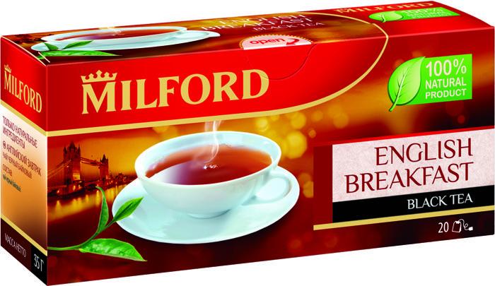 чай Milford 12 трав