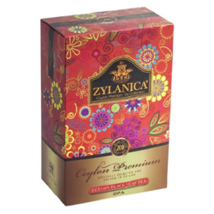 Ceylon Premium Collection OPА 200 гр. черный, картон (15)