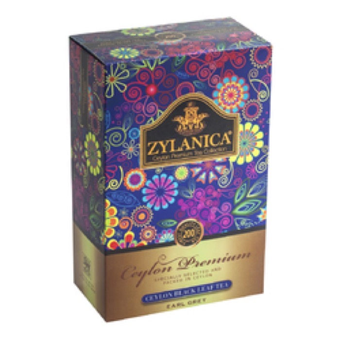 Ceylon Premium Collection Бергамот FBOP 200 гр. черный, картон (15)